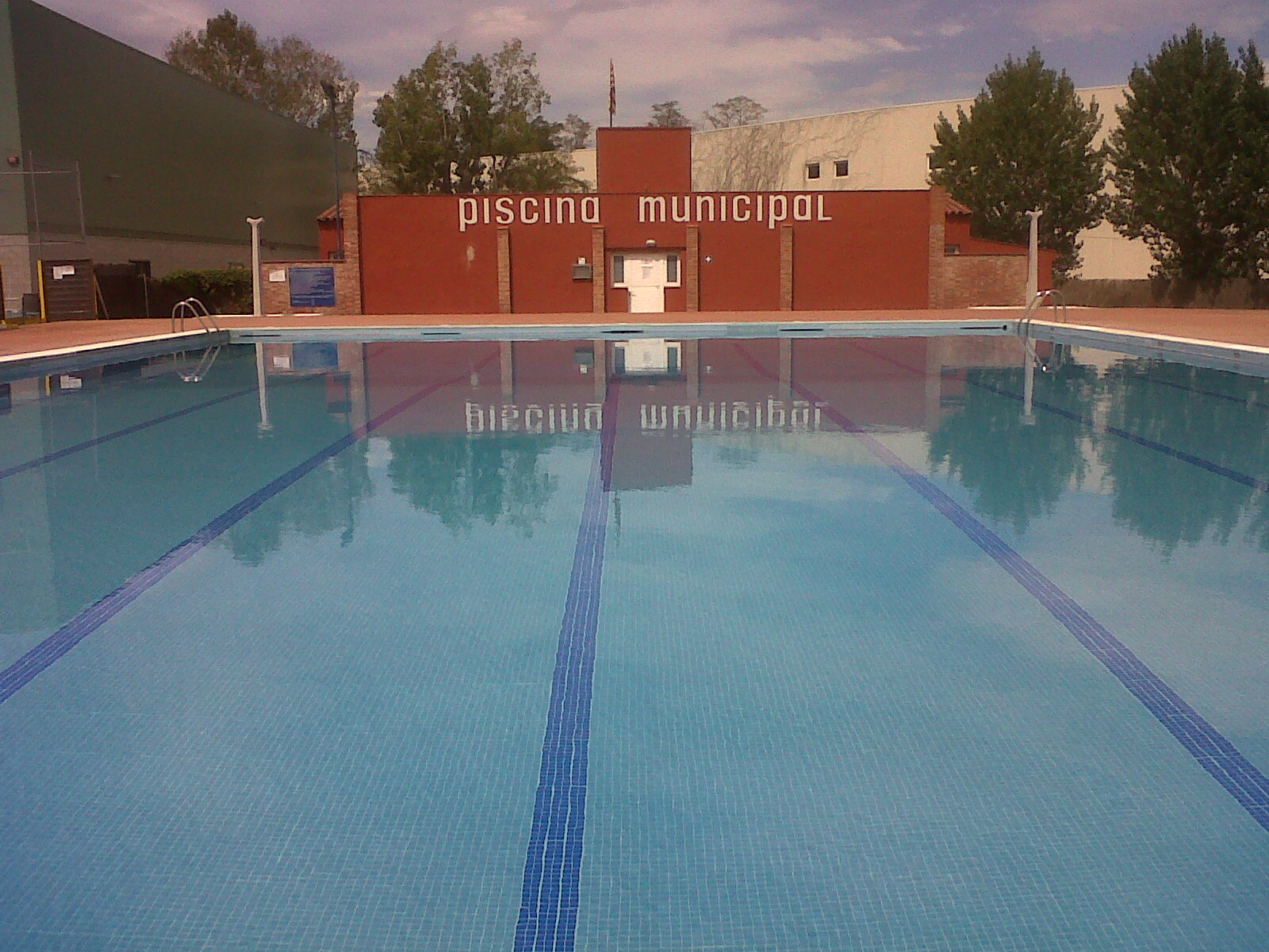 Sportgest portfolio for Piscina municipal las gabias